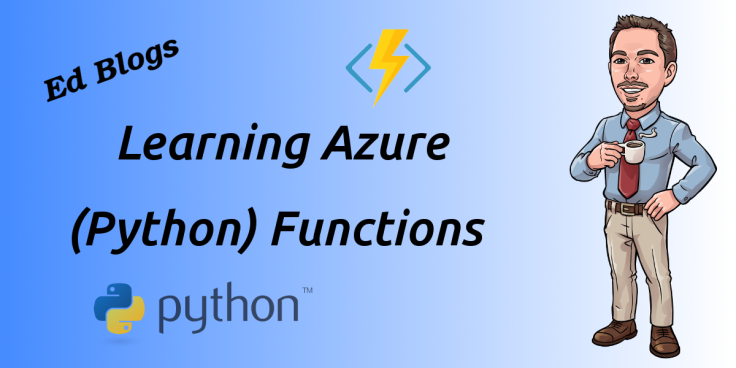 title image learning azure python functions